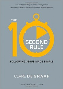The Book Cover for The 10 Second Rule