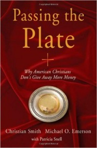 The Book Cover to Passing the Plate