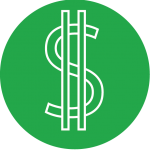 A dollar sign
